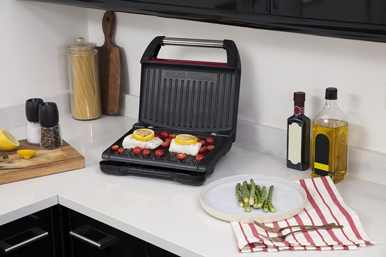 George Foreman Red Grilling Machine