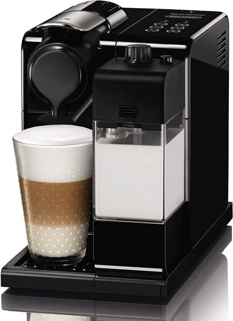 Nespresso EN550.B Lattissima Touch Automatic Coffee Machine