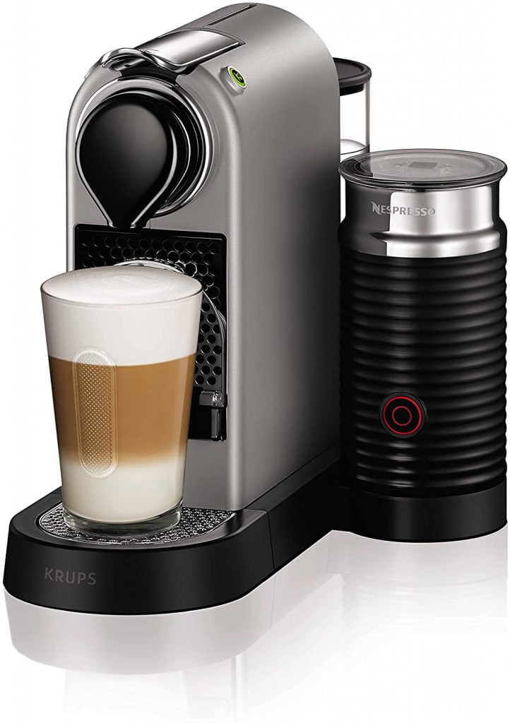 Nespresso XN760B40 Nespresso Citiz and Milk Coffee Machine​