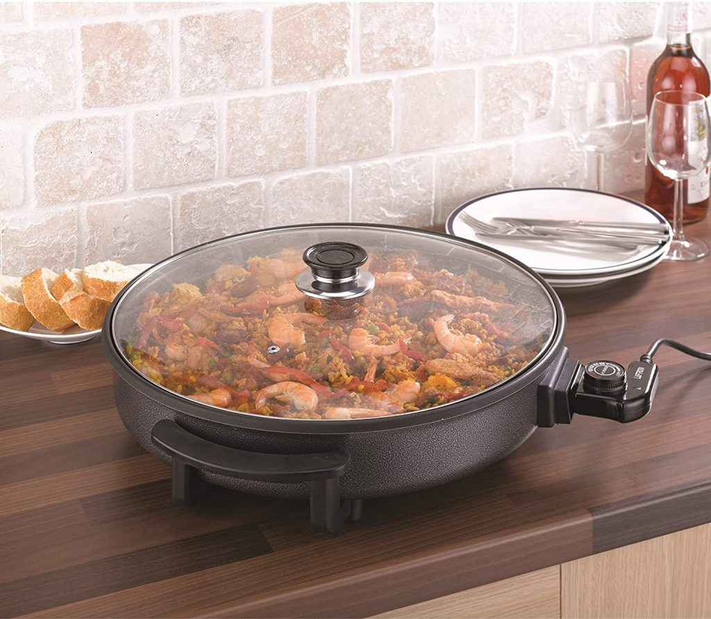 Laptronix Electric Frying Pan