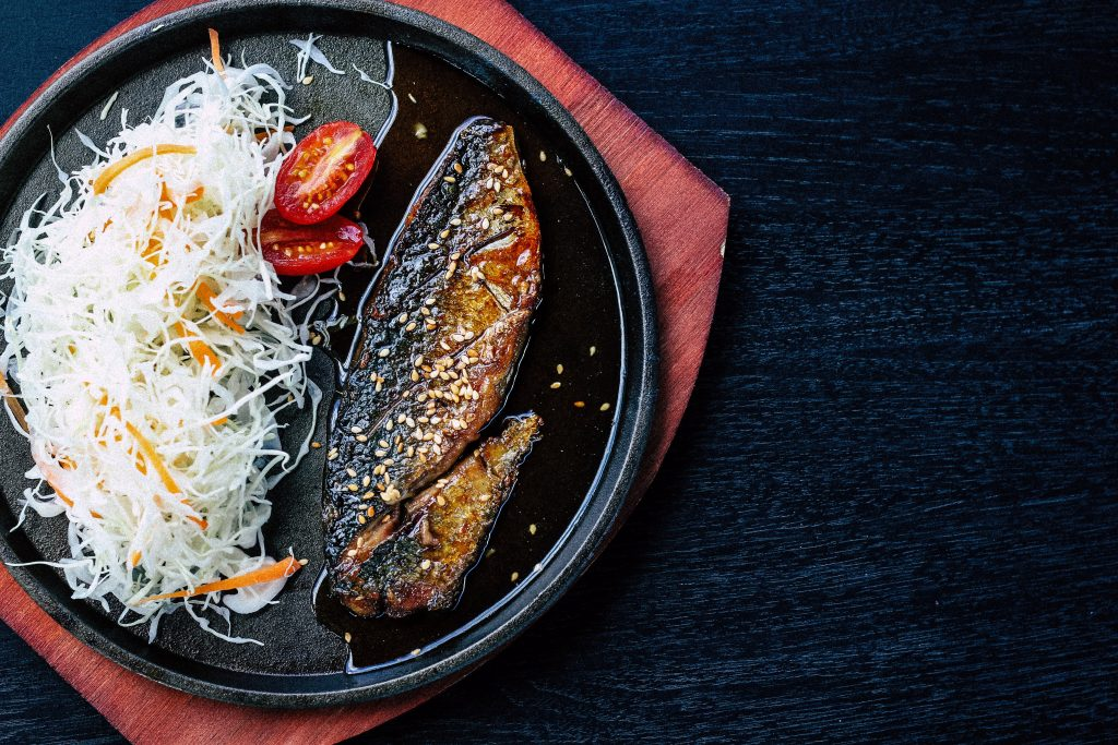 Mirin with fish