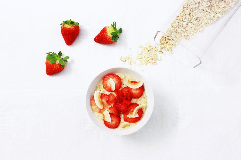 Strawberries and Porridge