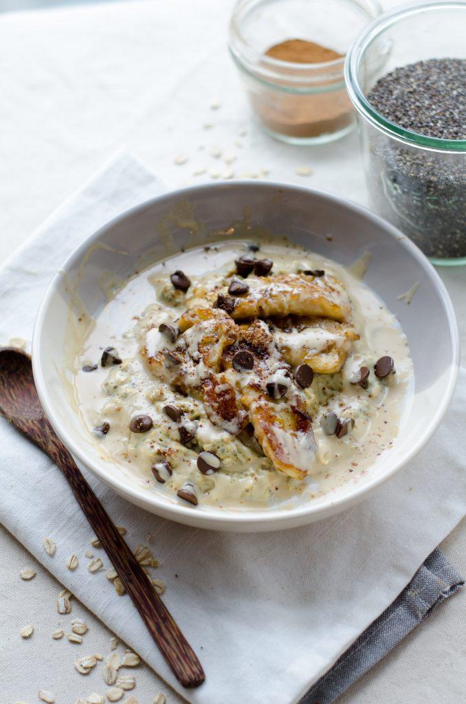 can you reheat porridge