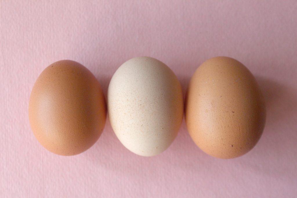 3 eggs in a row