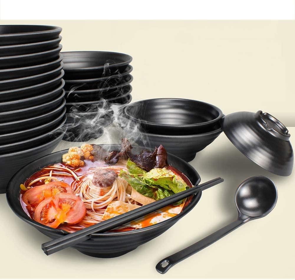 Plastic ramen bowl