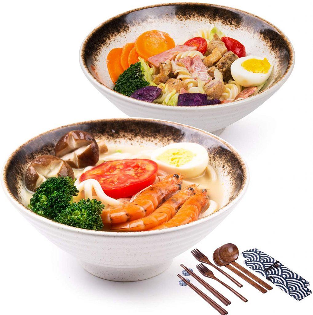 porcelain ramen bowl