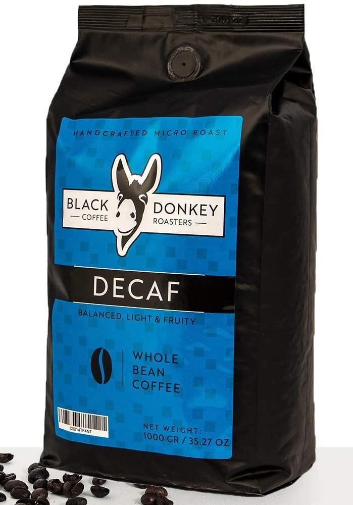 Black Donkey Coffee Roasters Decaf Beans