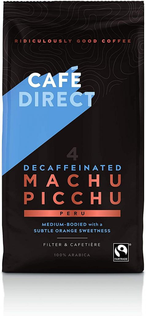 Cafédirect Decaf Machu Picchu Fairtrade Ground Coffee