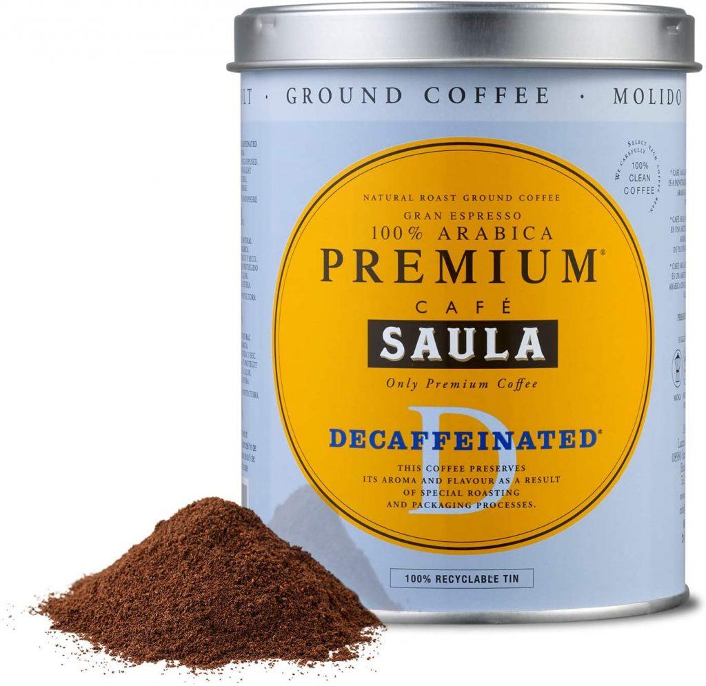 Saula Premium Decaffeinated Ground Coffee Review