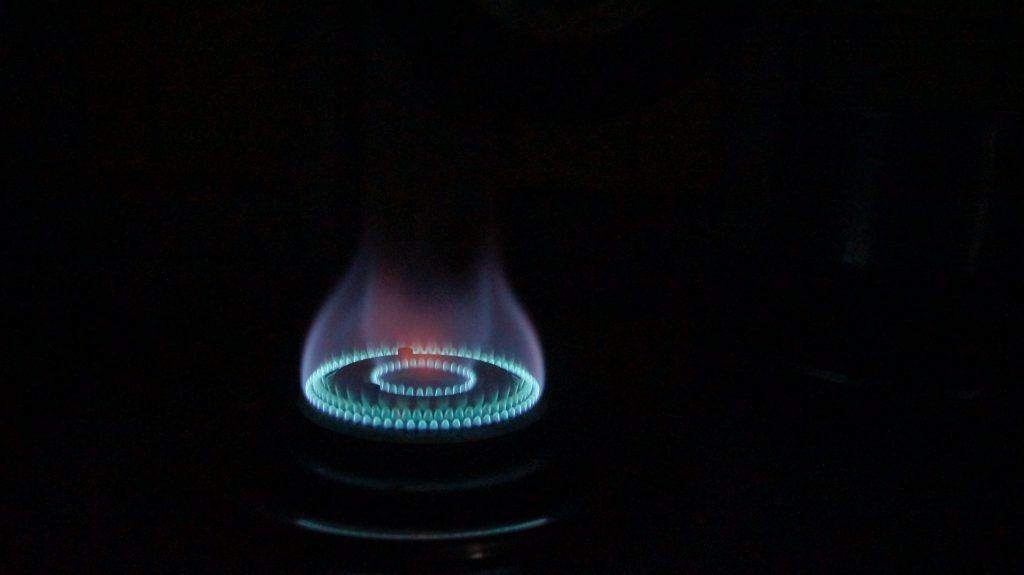 wok burner flame
