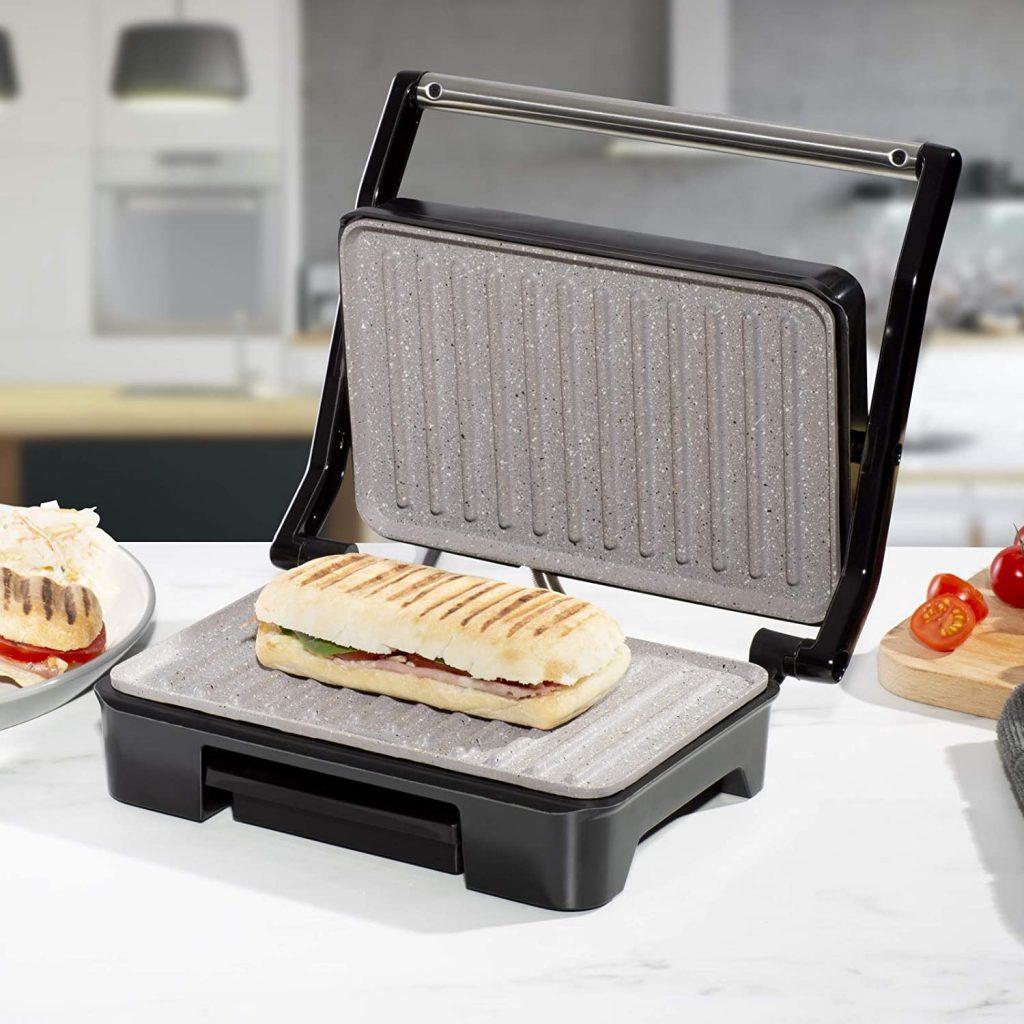 Cuisine King Compact Twin Panini Press