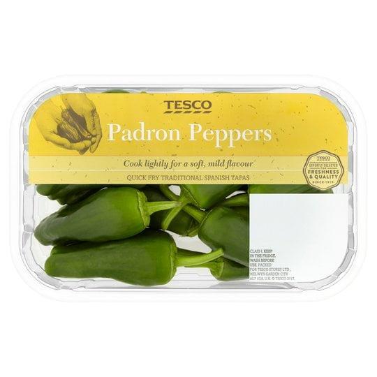 Tesco padron pepper