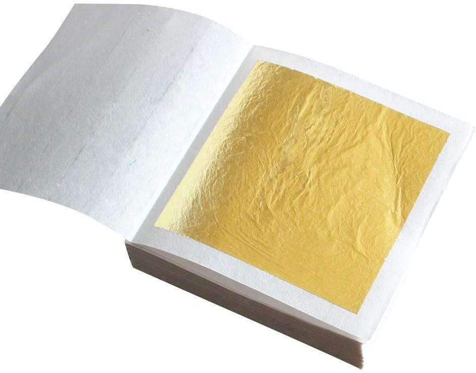 gold leaf book