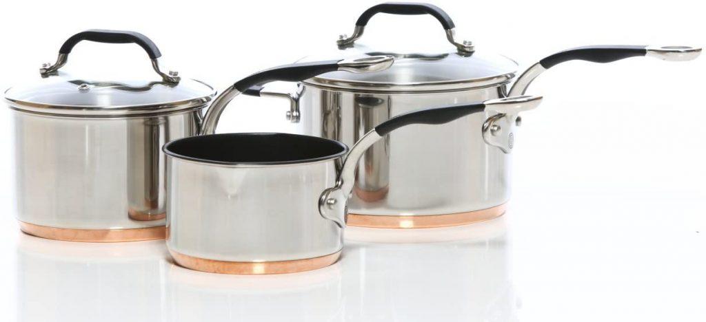 Copper Saucepans Proware