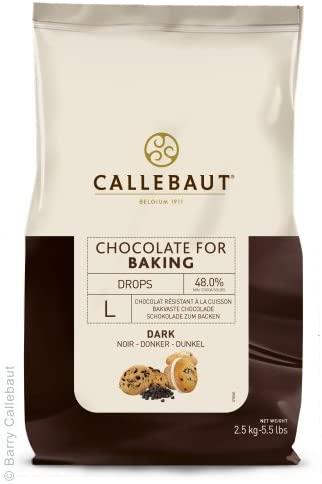 callebaut dark chips
