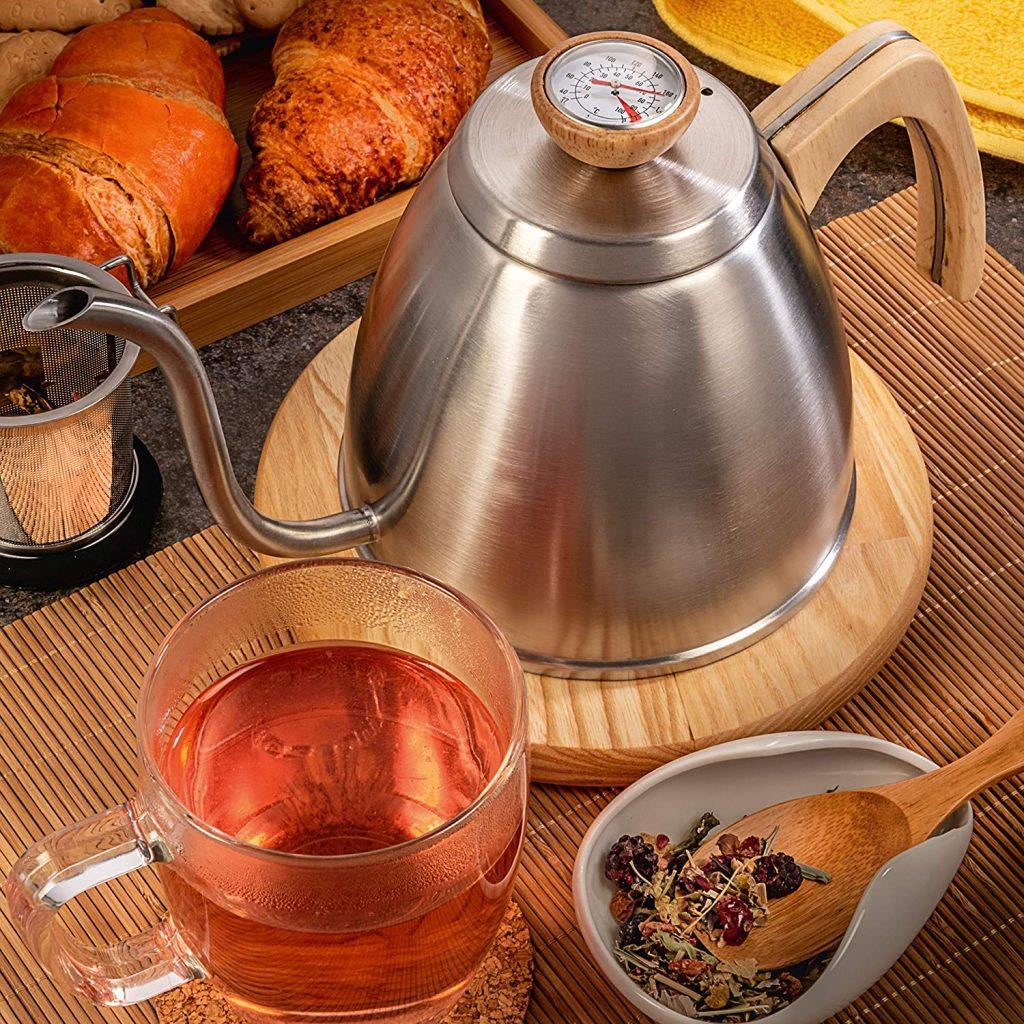 gooseneck pour over kettle