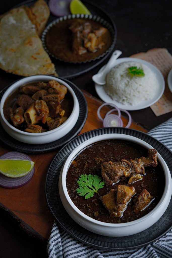 mutton in a dish