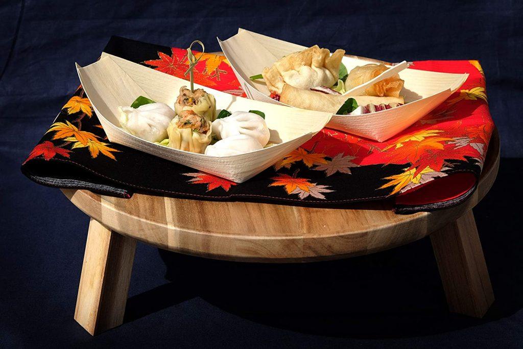 Bamboo wood boats