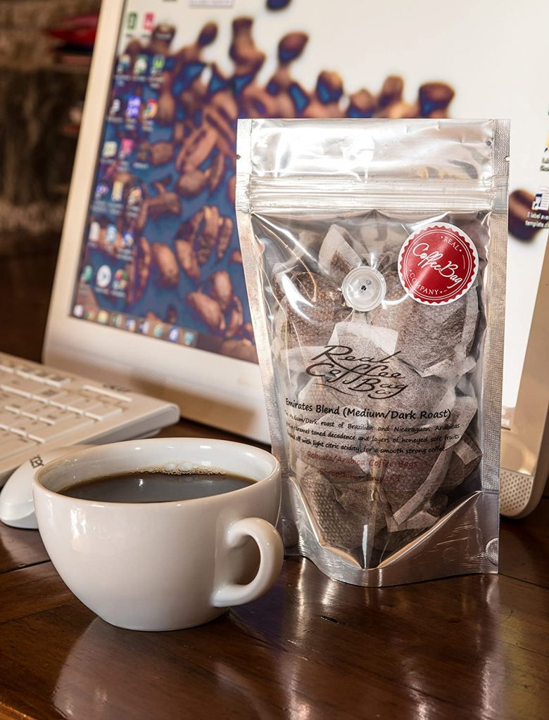 Emirates Blend MediumDark Roasted Arabica Fresh Ground Coffee Bags