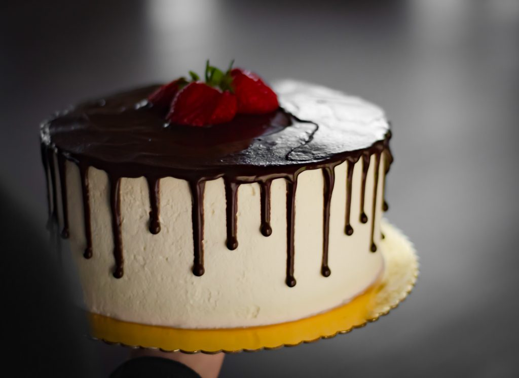 cooked cake