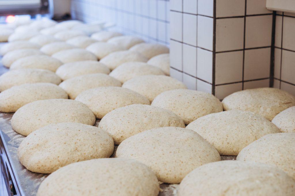 dough using fresh yeast