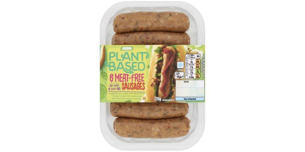Asda Plant Based Sausages