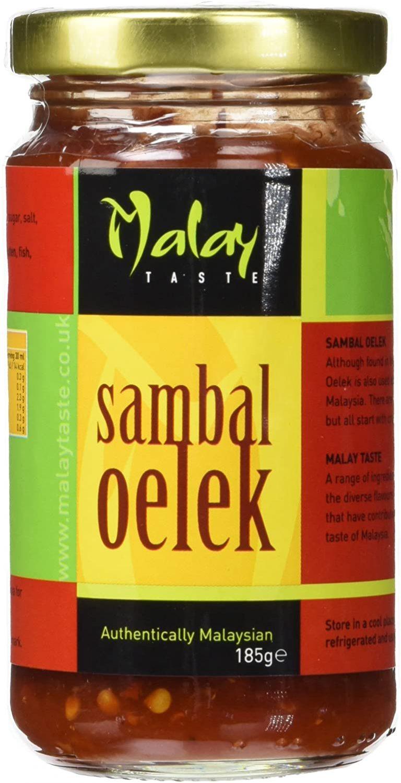 Malay Taste Sambal Oelek Paste