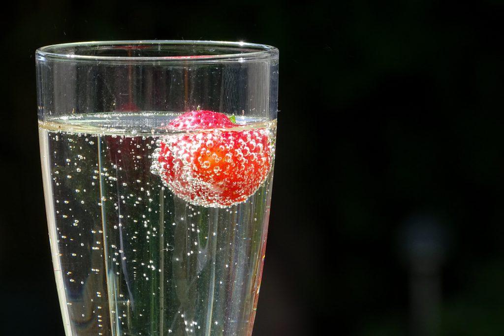 glass of prosecco