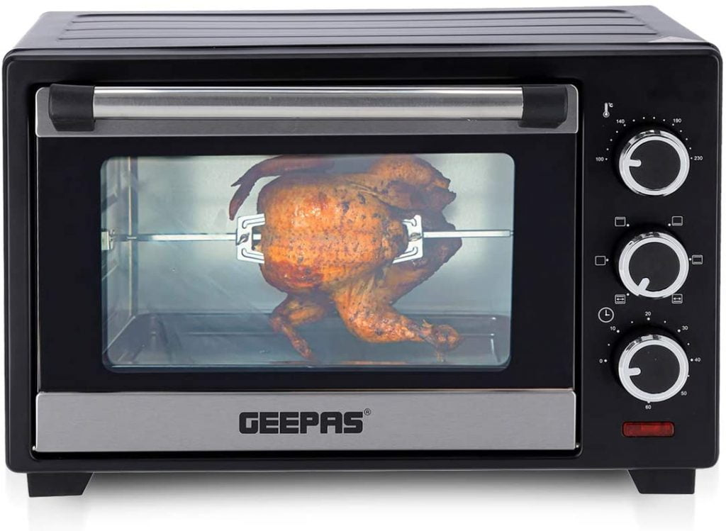 Geepas 19L Mini Oven & Grill