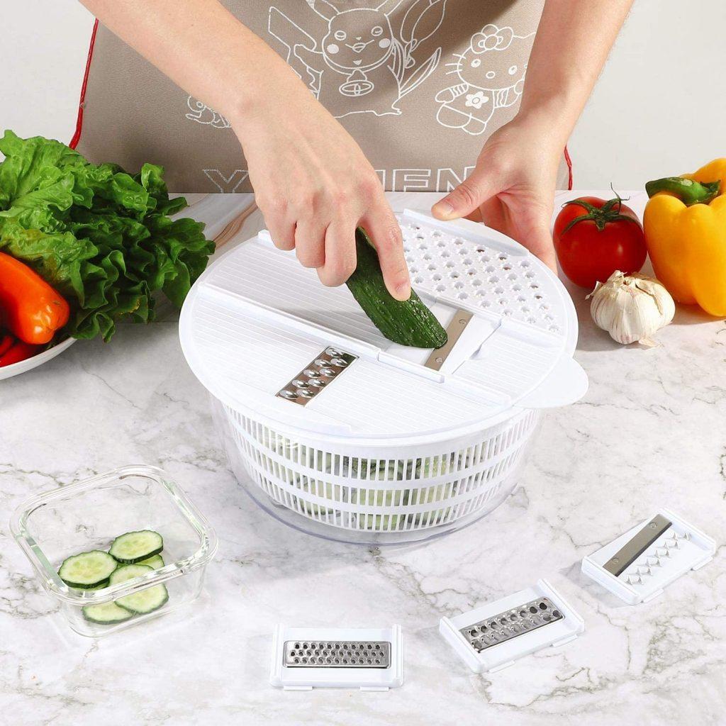 Vinsani Multi-functional salad spinner