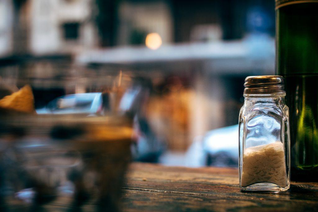 a jar of celery salt