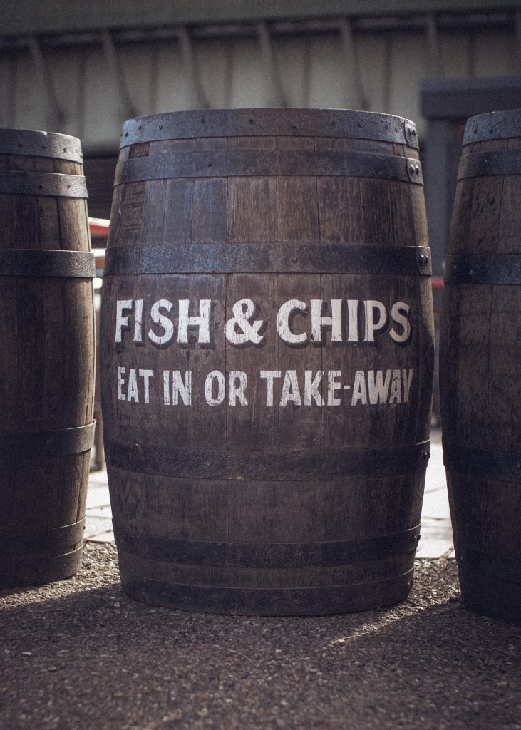 fish and chip advert