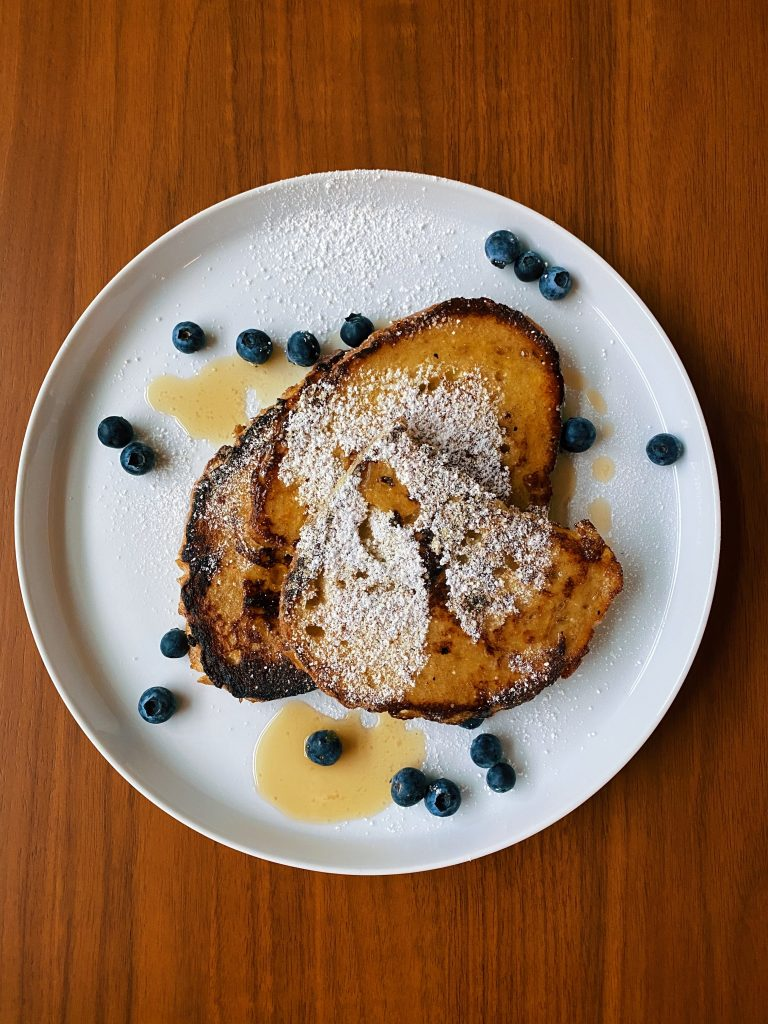 french toast served up