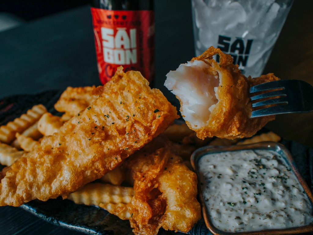 history of fish and chips